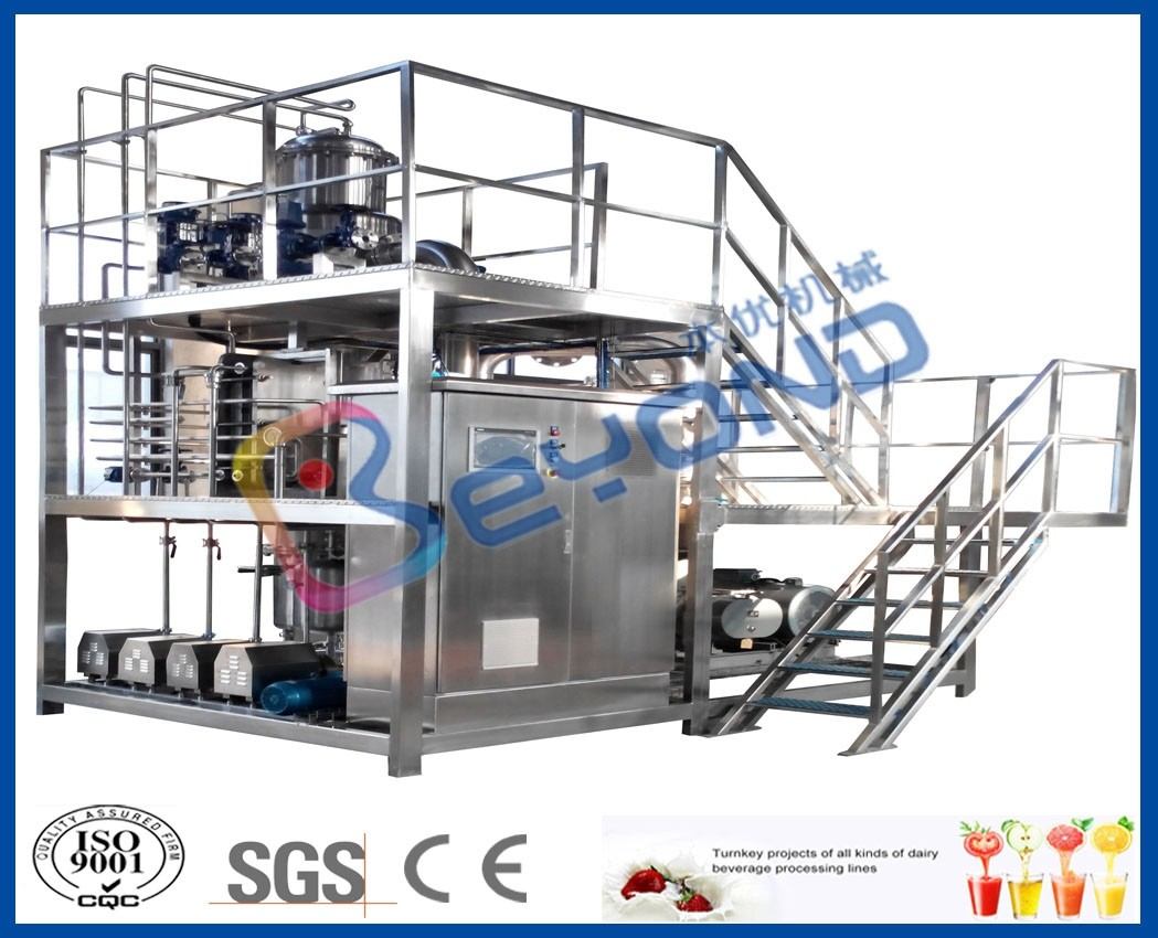 Multiple Effect Mvr Evaporator System , Mechanical Vapor Compression Evaporator