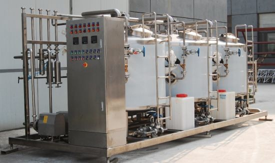 500LPH Full Auto CIP Cleaning System PLC Control For Dairy Processing Equipment